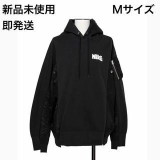 sacai - 【新品未使用】Nike × sacai Hoodie Black Mサイズ