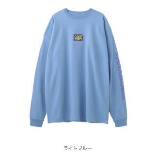 エックスガール(X-girl)のx-girl LEOPARD BOX L/S TEE DRESS (Tシャツ(長袖/七分))
