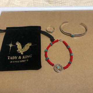goro's - tady&king バングル、ブレス、set     リング売り切れ