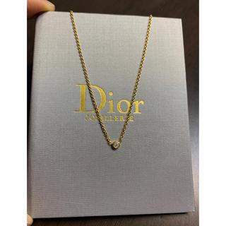 Christian Dior - ディオール  ミミウィ イエローゴールド ネックレス 18K