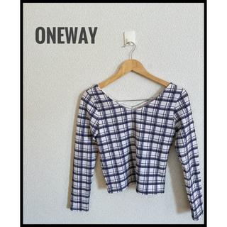ワンウェイ(one*way)のoneway トップス 春 キレイめスタイルにぴったり★(シャツ/ブラウス(長袖/七分))