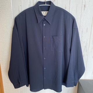 Marni - 19SS MARNI ウールシャツ トロピカルウールシャツ