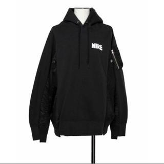 sacai - Nike sacai  Hoodie パーカー 黒 L ブラック フーディー