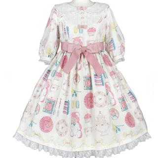 アンジェリックプリティー(Angelic Pretty)のAngelic Pretty  Doll's Tea Party OP (ひざ丈ワンピース)