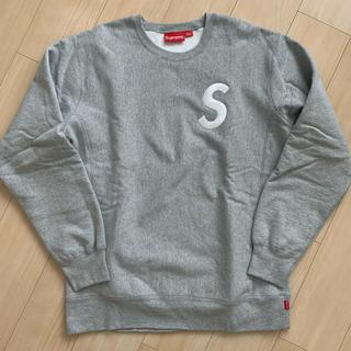 Supreme - Supreme  S Logo Crewneck XL クルーネック グレー