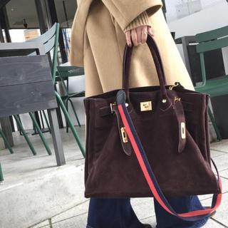 L'Appartement DEUXIEME CLASSE - 新品☆SITA PARANTICASuede Tote Bag&赤紺ストラップ付