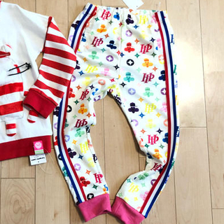 JAM - はらぺこぺいと♡新品 トレーナー パンツ 120