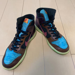 NIKE - NIKE DUNK HIGH NL × UNDEFEATED US10 28cm