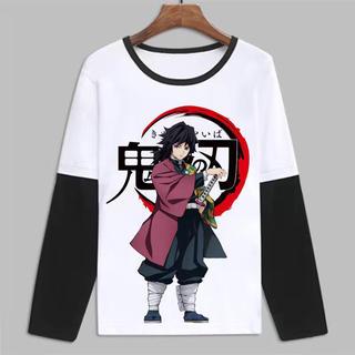 鬼滅の刃ハンドメイドTシャツ 150cm男女兼用