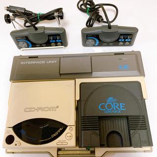 エヌイーシー(NEC)のPCエンジンCD-ROM2  本体+ソフトおまけ品(家庭用ゲーム機本体)