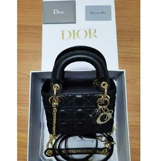 Dior - Dior レディディオールミニ シルバーチェーン