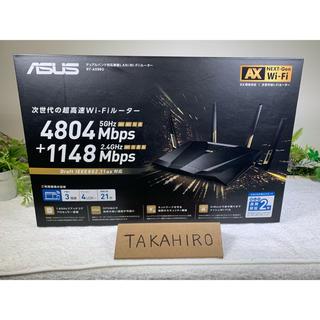エイスース(ASUS)の中古品 ASUS RT-AX88U wifi ルーター 無線(PC周辺機器)