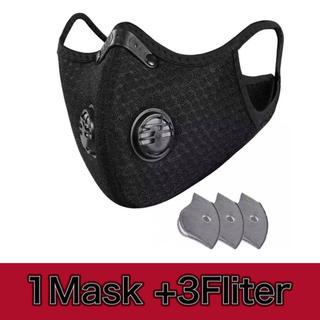 【週末SALE】スポーツマスク 洗える 自転車 ジム ジョギング 高性能フィルタ