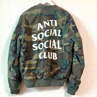 ANTI SOCIAL SOCIAL CLUB × Alpha MA-1 M
