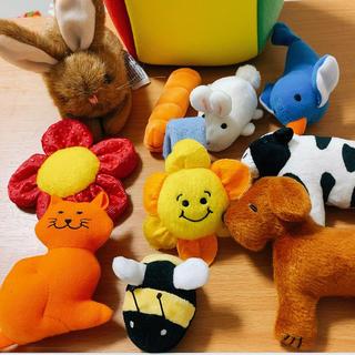 Disney - ディズニー英語システム play along ぬいぐるみ/指人形 セット
