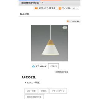 コイズミ(KOIZUMI)の505様専用 KOIZUMI 新品! 照明 ペンダントライト 2台セット(天井照明)
