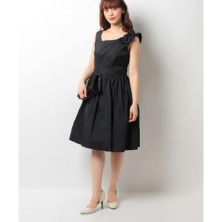 ジルスチュアート(JILLSTUART)のJILLSTUART White リノジャガードドレス(ひざ丈ワンピース)