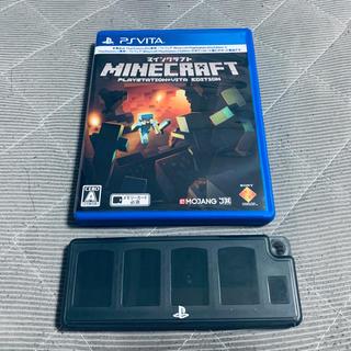 プレイステーションヴィータ(PlayStation Vita)のvita ソフトケース マイクラ 2(その他)