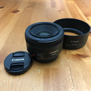 Canon - 【美品】Canon EF50mm F1.8 STM