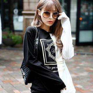 Rady - Rady♡バイカラーホテルシリーズロングTシャツ