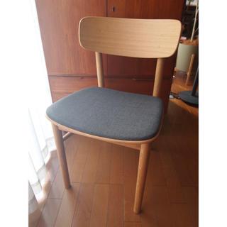 ミナペルホネン(mina perhonen)のミナペルホネン 無印良品 ダイニングチェア タンバリン ハンドメイド 生地 椅子(ダイニングチェア)