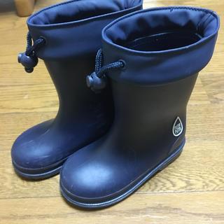 futafuta - 長靴 16.0 ネイビー