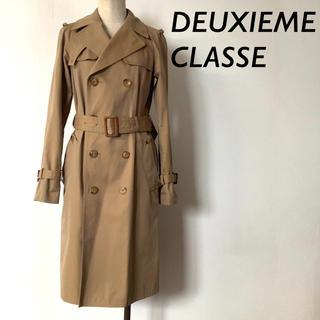 DEUXIEME CLASSE - 【美品】Deuxieme Classe コットン トレンチコート ベージュ