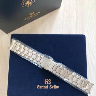 セイコー(SEIKO)の☆タイムセール☆グランドセイコー  バンド ブレスレット ブレスフル駒20mm(金属ベルト)