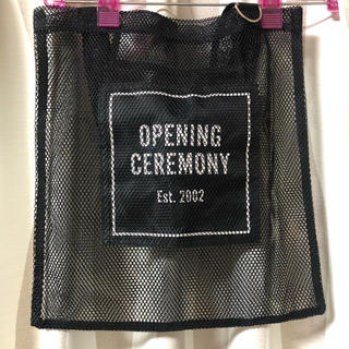 OPENING CEREMONY - オープニングセレモニー メッシュトート