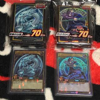 コナミ(KONAMI)の遊戯王 ブルーアイズ ブラックマジシャン セット(シングルカード)
