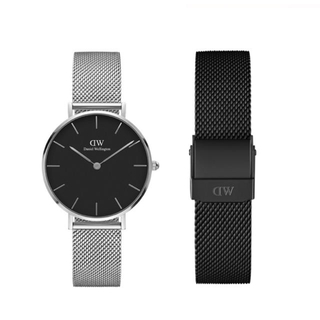 Daniel Wellington - 【32㎜】ダニエル ウェリントン腕時計 DW162+ベルトSET《3年保証付》