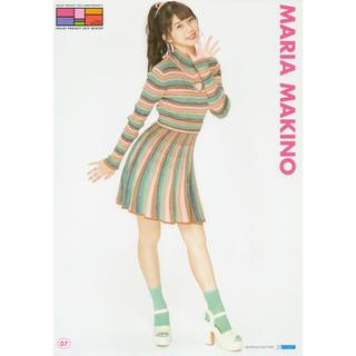 モーニングムスメ(モーニング娘。)の牧野真莉愛 モーニング娘。 冬ハロ 2019 p1 ピンナップポスター ピンポス(アイドルグッズ)