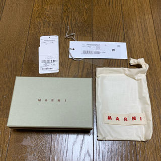 マルニ(Marni)のMARNI マルニ  不織布 ポーチ(ショップ袋)