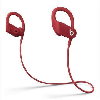 ビーツバイドクタードレ(Beats by Dr Dre)のPowerbeats 高性能ワイヤレスイヤフォン - レッド MWNX2PAA(ヘッドフォン/イヤフォン)
