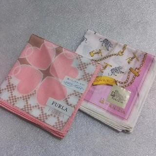 フルラ(Furla)のフルラ&KRIZIA☆大判ハンカチ2枚セット(ハンカチ)