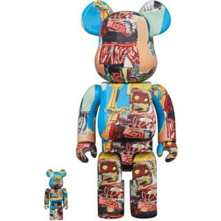 メディコムトイ(MEDICOM TOY)のBE@RBRICK JEAN-MICHEL BASQUIAT 100% 400%(フィギュア)