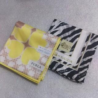 フルラ(Furla)の値下げ📌フルラ&KRIZIA☆大判ハンカチ2枚セット(ハンカチ)