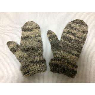 ムジルシリョウヒン(MUJI (無印良品))のtram  北欧  スウェーデン  手編み  手袋(手袋)