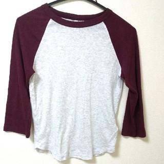 エイチアンドエム(H&M)のH&M   七分袖Tシャツ(Tシャツ(長袖/七分))
