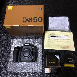 Nikon - 新品同様 Nikon D850 シャッター数198枚 メーカー3年保証有