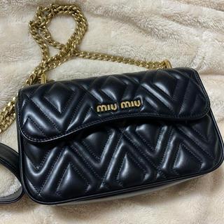 miumiu - MIUMIU ショルダーバッグ チェーンバッグ