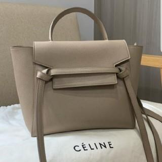 celine - 【CELINE】 完売 トリオンフ ミニ バーティカル カバ トートバッグ