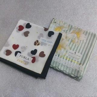 フルラ(Furla)の値下げ📌フルラ&ピエールバルマン☆大判ハンカチ2枚セット(ハンカチ)