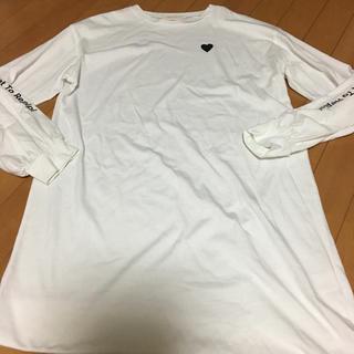 レピピアルマリオ(repipi armario)の美品♪レピピ ロングTシャツ L(Tシャツ/カットソー)
