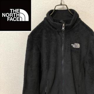 THE NORTH FACE - 【古着】ノースフェイス☆刺繍ロゴ フリースジャケット