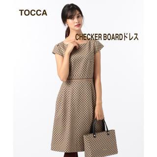TOCCA - 新品未使用タグ付き☆TOCCA トッカ CHECKER  BOARD ワンピース