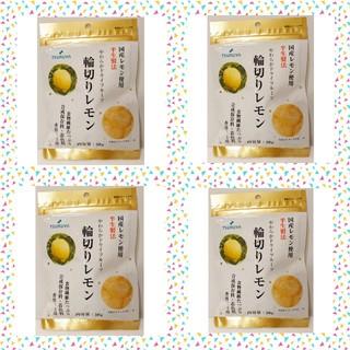 大人気!!【スーパーツルヤ】 ドライフルーツ  輪切りレモン50g【4袋】(その他)
