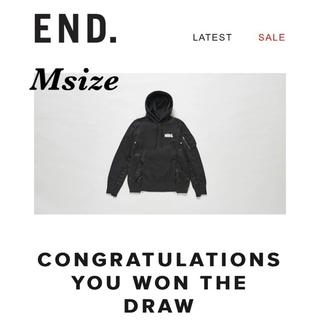 NIKE - 【END当選】Nike x sacai Hoodie パーカー ブラック M