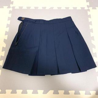 制服 紺色 ボックススカート ミニスカート W66 丈34