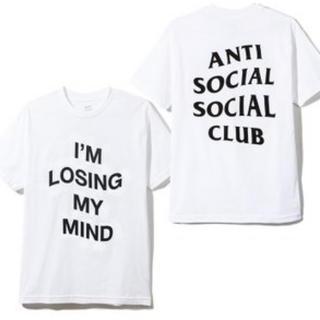 ANTI - 新品 ANTI SOCIAL SOCIAL CLUB Tシャツ アンチソーシャル